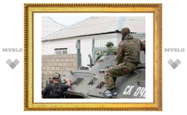 На Кавказе ранили тульского милиционера