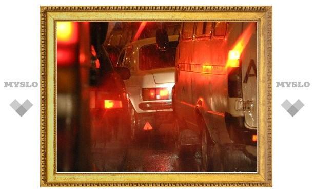 В Туле напали на ночного таксиста