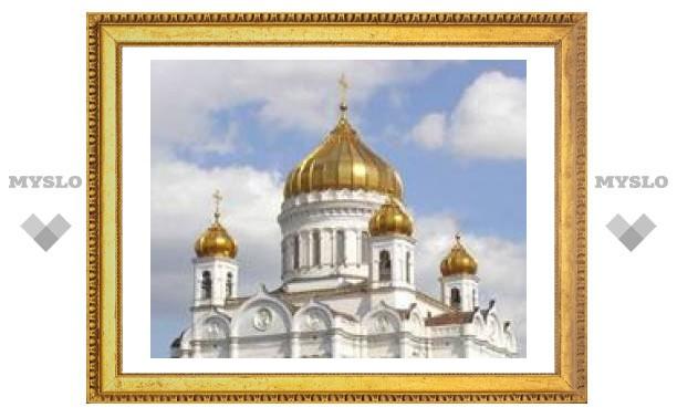 Русская православная церковь отмечает праздник Сретения Господня