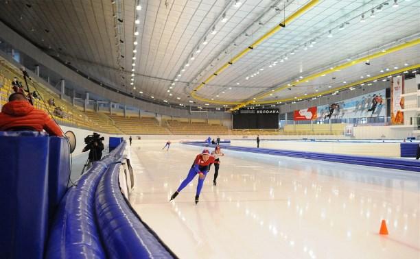 Тульские конькобежцы вернулись с представительных стартов из Коломны