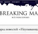 Смешные заголовки тульской прессы попали на Breaking Mad