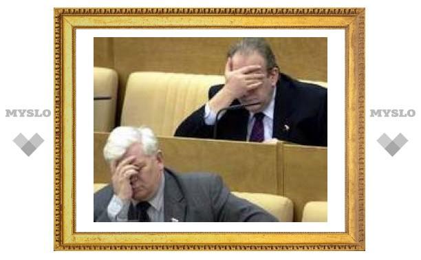 Тульские депутаты собираются на каникулы