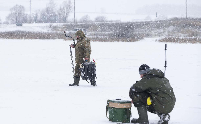 В Туле выбрали лучших рыбаков по ловле на блесну со льда