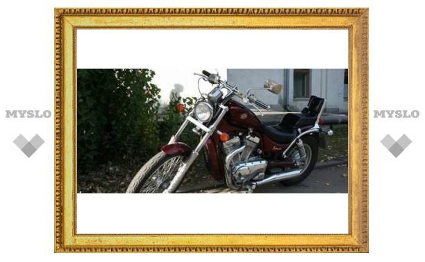 В Кимовском районе угнали мотоцикл