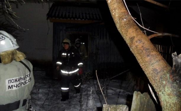 На пожаре в Прилепах пострадал человек