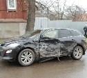 На ул. Льва Толстого в Туле столкнулись три автомобиля