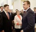 Церемонию инаугурации Алексея Дюмина посетил  Владимир Груздев