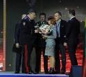Семье погибшего в Тульской области лейтенанта полиции вручили ключи от автомобиля