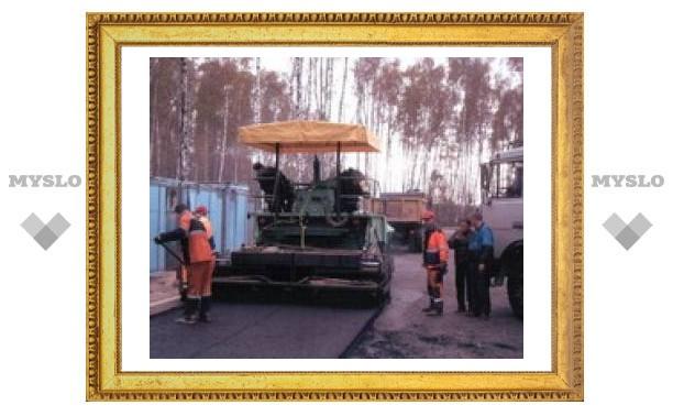 В Туле закрыли Новомосковское шоссе