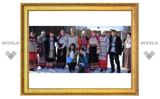 В Белоусовском парке готовятся к Масленице!