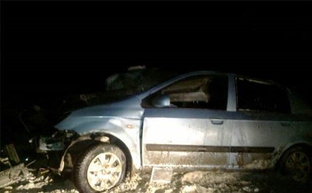 Ночью в аварии на трассе М4 погибла женщина