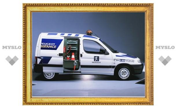 Компания Peugeot запустила в России программу техпомощи на дорогах