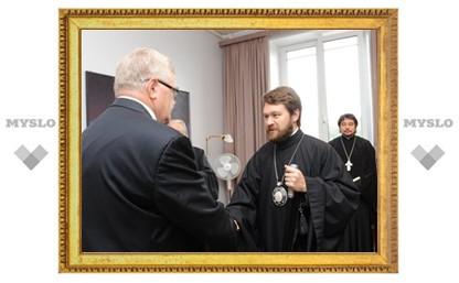 Митрополит Волоколамский Иларион встретился с мэром Таллина Эдгаром Сависааром