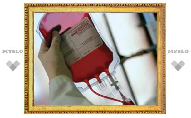 В Туле соберут кровь для пострадавших в ДТП