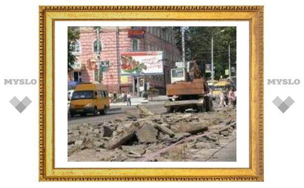 Улицу Октябрьскую закрыли на ремонт