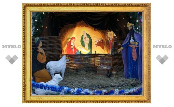 Православные туляки отмечают Рождественский сочельник