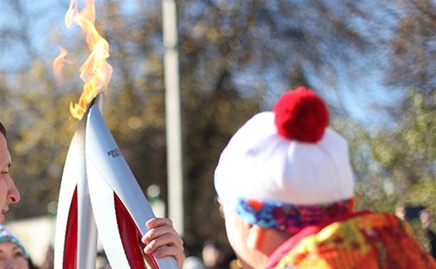 Первый этап эстафеты олимпийского огня в Туле завершен