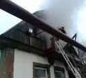 Ранним утром на пожаре в Туле погиб мужчина