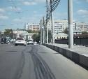 В Туле на Зареченском мосту отремонтировали бетонные блоки