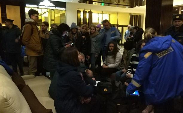 Попавших в ДТП под Тулой детей доставили в гостиницу SK Royal