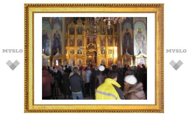 Тульские православные отмечают Рождество Богородицы