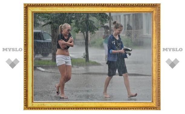В Туле 1 сентября начнутся дожди