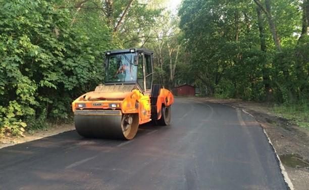 В Туле отремонтировали 45 участков дорог