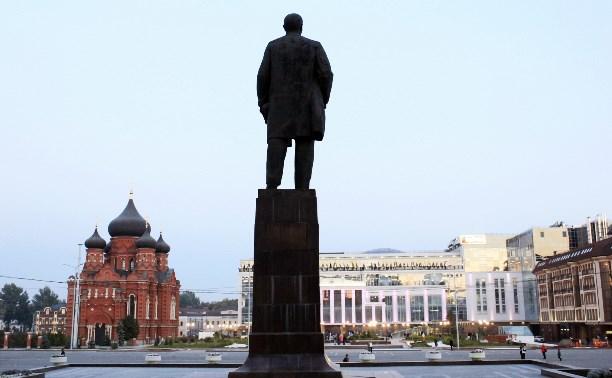 Россиянам предлагают сделать cелфи с Лениным