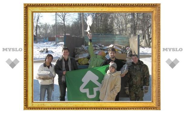 Тулякам расскажут о важности переработки мусора