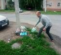 Туляков штрафуют за выброс мусора в неположенном месте