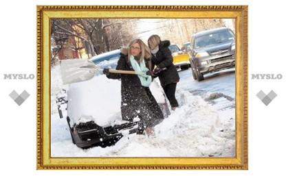Куда в Туле спрятали снегоуборочную технику?
