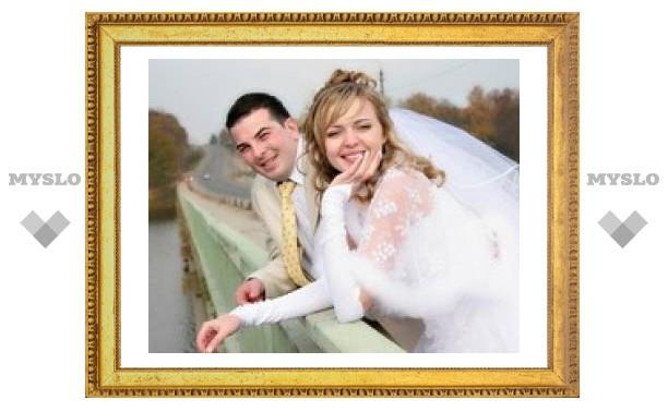 В Туле ожидается рекордное количество свадеб
