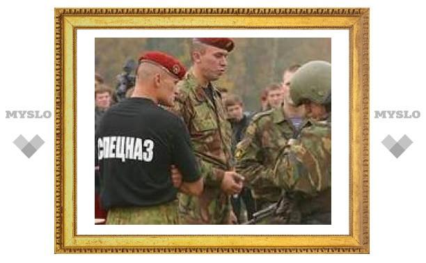 Тульский спецназ уехал в Ингушетию