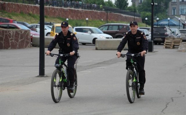 В тульском ЦПКиО появится полицейский велопатруль