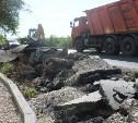 В Туле подрядчику пришлось переделывать ремонт тротуара на ул. Бондаренко