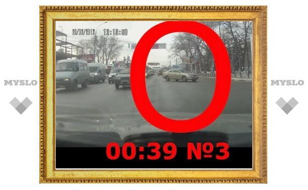 5 нарушений ПДД за 1 минуту в центре Тулы