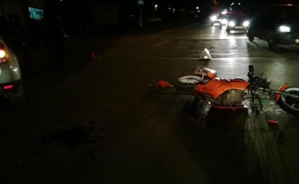 В День мотоциклиста в области разбились пять байкеров