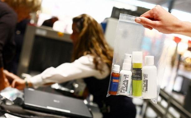 Запрет на провоз жидкостей в самолете планируют сделать бессрочным