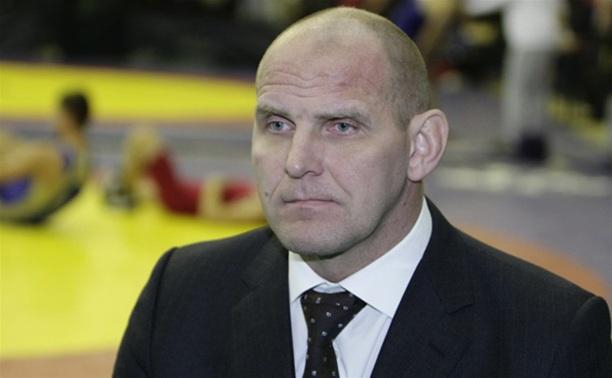 В Туле Александр Карелин посетил открытие турнира по греко-римской борьбе