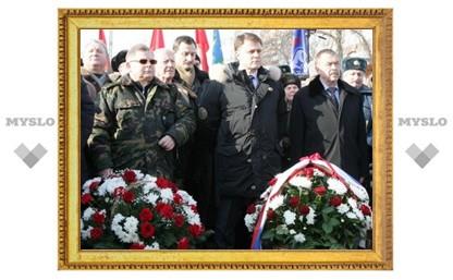 В Туле прошел митинг в память о погибших в локальных войнах