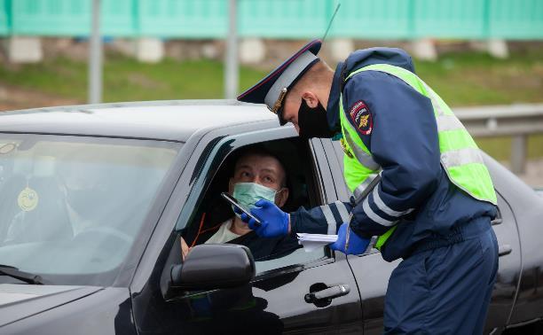 Где в Тульской области расположены посты ДПС, контролирующие въезжающие авто: карта