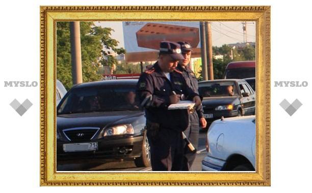 ДТП с тремя автомобилями в Туле снял видеорегистратор