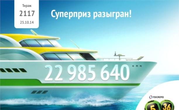 Туляк выиграл в лотерее почти 23 миллиона рублей