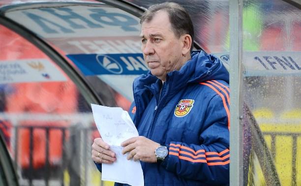 Наставник «Арсенала» Сергей Павлов: Уже начали готовиться к Премьер-лиге
