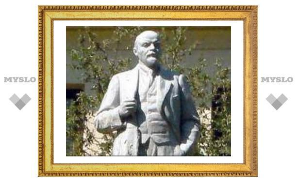 Ленин в Новомосковске - живее всех живых!