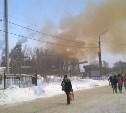 Тулячка сфотографировала выброс с Косогорского металлургического завода