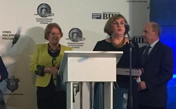 Издатель «Молодого коммунара» Тамара Головина получила премию «Щит и Меч Отечества»