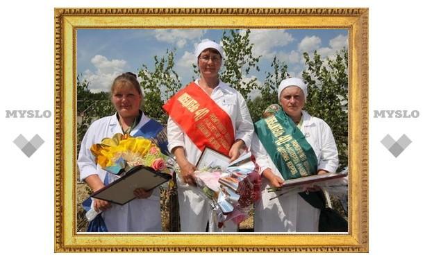 В Новомосковске выбрали лучшую доярку