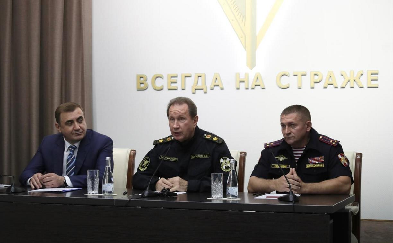 Тульским росгвардейцам представили нового начальника