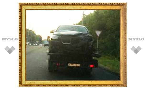 В ДТП с участием BMW Владимира Груздева участвовало три автомобиля